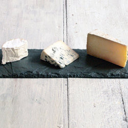 Special Edition Slate Cheese Board - A well-laid-out cheese plate at a party is super classy. This slate comes with soapstone chalk so you can label your cheeses right on the tray. It's genius.