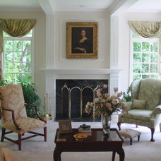 Traditional Family Room by Golden Interiors