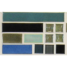Tropical Accent Trim And Border Tile by Glass Tile Oasis