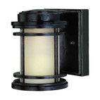 Dolan Designs - Dolan Designs 9201-68 La Mirage Winchester Black Outdoor Wall Sconce - Dolan Designs 9201-68 Bronze Outdoor Lighting