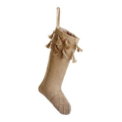 Silk Plants Direct - Silk Plants Direct Burlap Stocking (Pack of 2) - Pack of 2. Silk Plants Direct specializes in manufacturing, design and supply of the most life-like, premium quality artificial plants, trees, flowers, arrangements, topiaries and containers for home, office and commercial use. Our Burlap Stocking includes the following: