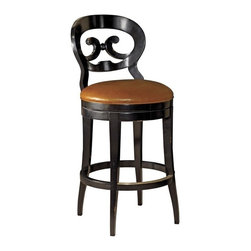 EuroLux Home - New Swivel Bar Stool Consigned Antique French Style - Product Details