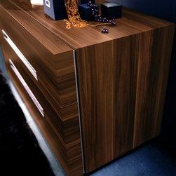 Rossetto Furniture - GAP Walnut Dresser - T30440001 - GAP Collection Dresser