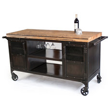 Eclectic Bar Carts by Real Industrial Edge Furniture