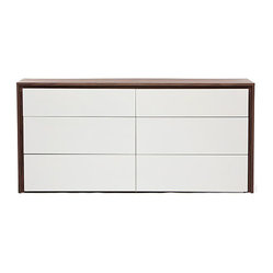Structure Morgan Chest of Drawers (Walnut)