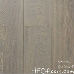 Garrison French Connection - French Connection Old Grey wire-brushed white oak hardwood. Available at HFOfloors.com.