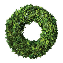 "Park Hill Collection - Preserved Boxwood Wreath 12"" - Park Hill Collection is a supplier specializing in gift, floral & home decor. Preserved Boxwood."