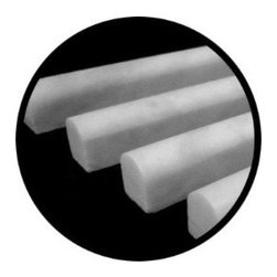 Carrara Marble Italian White Bianco Carrera Bullnose Pencil Molding Honed - The coordinating pencil trim to the subway tiles comes at a great price. (Just to give you an idea, most retailers sell these for $12 to $14 per piece.) I love Carrara; it will never go out of style.