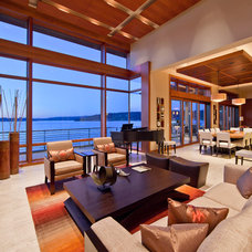 Contemporary Family Room by Windows, Doors, & More