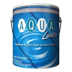 RAMUC Pool Paint - AquaLuster Acrylic Pool Coating Paint - Black (1 Gallon) - AquaLuster Acrylic Pool Coating Paint - Black 1 gallon