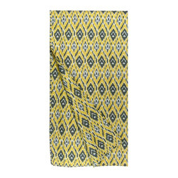 Lava - Abra Microfiber Twin Set Yellow - Set includes 68 x 86 twin quilt with one 20 x 26 standard sham. 100% Polyester Microfiber. Imported.