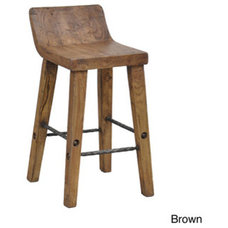 Platters Tam 24-inch Low Back Counter Stool