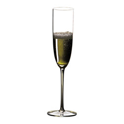 Riedel - Riedel Sommeliers Champagne Glass - This classically shaped glass was developed for light, fresh, dry champagnes. It is designed so that the wonderful tingle of delicate bubbles for which champagne is famous is experienced on the tip of the tongue.
