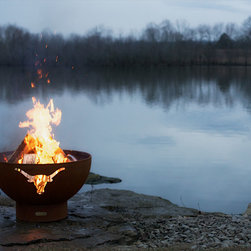 Fire Pit Art - Long Horn Firepit - Each one is made to order so you know that you have a one of a kind work of art.