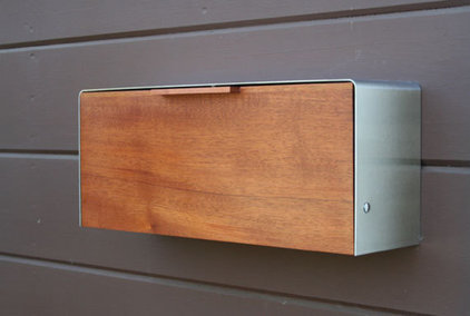 Modern Mailboxes by Etsy