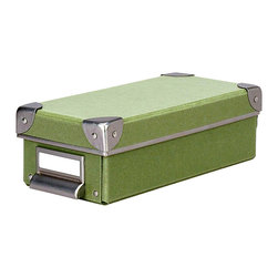 Cargo - Cargo Naturals Pencil Box - Get your odds and ends spic and span with this pretty pencil box. Dapper and diminutive, it keeps your smallest necessities — pens, pencils, thumb drives, cards, maps — neatly, stylishly stowed.