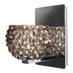 WAC Lighting - WAC Lighting WS58LED-G542 Gia Crystal Bead Shade Integral Dimming LED Wall Sconc - Features: