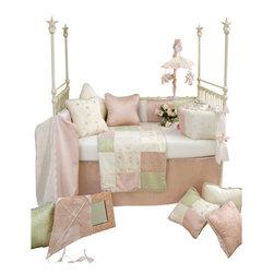 Glenna Jean - Meadow Crib Bedding Set 4-Piece Set - The Meadow Crib Bedding Set by Glenna Jean is available as a 3 or 4-piece set.