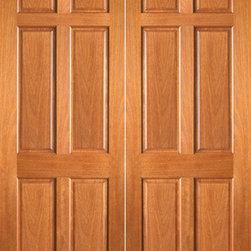 """P-660 Interior Wood Mahogany 6 Panel Double Door - SKU#P-660-2BrandAAWDoor TypeInteriorManufacturer CollectionInterior Mahogany DoorsDoor ModelDoor MaterialWoodWoodgrainMahoganyVeneerPrice440Door Size Options2(15"""") x 80"""" (2'-6"""" x 6'-8"""")  $02(18"""") x 80"""" (3'-0"""" x 6'-8"""")  +$202(24"""") x 80"""" (4'-0"""" x 6'-8"""")  +$1002(28"""") x 80"""" (4'-8"""" x 6'-8"""")  +$1002(30"""") x 80"""" (5'-0"""" x 6'-8"""")  +$1002(32"""") x 80"""" (5'-4"""" x 6'-8"""")  +$1002(36"""") x 80"""" (6'-0"""" x 6'-8"""")  +$1202(15"""") x 96"""" (2'-6"""" x 8'-0"""")  +$1002(18"""") x 96"""" (3'-0"""" x 8'-0"""")  +$1202(24"""") x 96"""" (4'-0"""" x 8'-0"""")  +$3002(28"""") x 96"""" (4'-8"""" x 8'-0"""")  +$3402(30"""") x 96"""" (5'-0"""" x 8'-0"""")  +$3402(32"""") x 96"""" (5'-4"""" x 8'-0"""")  +$3402(36"""") x 96"""" (6'-0"""" x 8'-0"""")  +$360Core TypeSolidDoor StyleDoor Lite StyleDoor Panel Style6 PanelHome Style MatchingCraftsman , Colonial , Bungalow , Bay and Gable , Gulf Coast , Plantation , Cape Cod , Suburban , Prairie , Ranch , Elizabethan , VictorianDoor ConstructionEngineered Stiles and RailsPrehanging OptionsPrehung , SlabPrehung ConfigurationDouble DoorDoor Thickness (Inches)1 3/8 , 1 3/4Glass Thickness (Inches)Glass TypeGlass CamingGlass FeaturesGlass StyleGlass TextureGlass ObscurityDoor FeaturesDoor ApprovalsFSCDoor FinishesDoor AccessoriesWeight (lbs)620Crating Size25"""" (w)x 108"""" (l)x 52"""" (h)Lead TimeSlab Doors: 7 daysPrehung:14 daysPrefinished, PreHung:21 daysWarranty1 Year Limited Manufacturer WarrantyHere you can download warranty PDF document."""
