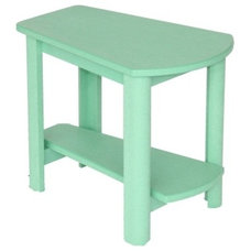 Contemporary Outdoor Side Tables by Adirondack Chairs Only