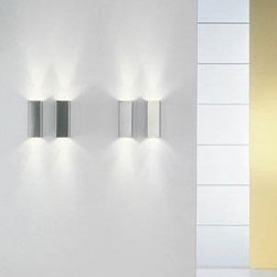Micro Box Up/Down Wall Sconce by OTY Light -