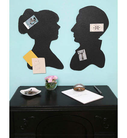 Silhouette Bulletin Board