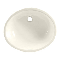 "American Standard - Ovalyn 19"" Undermount Bathroom Sink in Linen - American Standard 0496.221.222 Ovalyn 19"" Undermount Bathroom Sink in Linen."