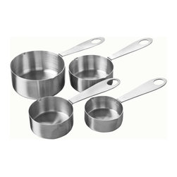 Chicago Metallic - Chicago Metallic Baking Essentials Measuring Cups - If you mean business when you're baking, get the best measuring cups. These stainless steel essentials goof-proof your recipes, so you can turn out perfect treats every time.