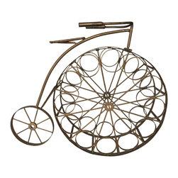 Vintage Bicycle Wine Rack -