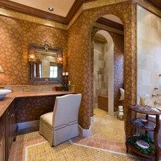 Mediterranean Bathroom by Keesee and Associates, Inc.