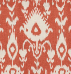 mediterranean upholstery fabric Malabar Coral Fabric