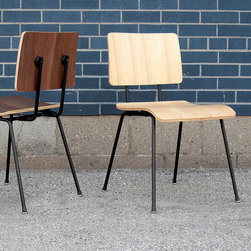 Modern School Dining Chair - Gus Modern School Dining Chair
