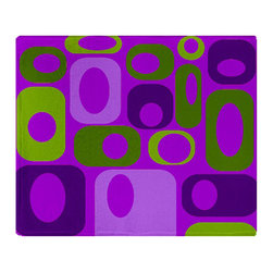 Crash Pad Designs - Modern Fleece Throw Blanket, Soft Sofa Blanket by Crash Pad Designs, Small - Snuggle up with our new incredibly plush fleece blankets.