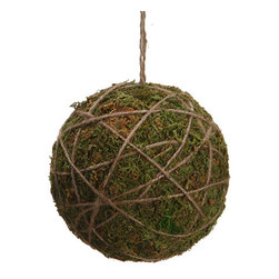 Silk Plants Direct - Silk Plants Direct Moss Ball Ornament (Pack of 8) - Silk Plants Direct specializes in manufacturing, design and supply of the most life-like, premium quality artificial plants, trees, flowers, arrangements, topiaries and containers for home, office and commercial use. Our Moss Ball Ornament includes the following: