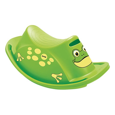 """The Original Toy Company - The Original Toy Company Kids Children Play Frog Rocker - Attractive Danish made single rocker that provides countless hours of unique play value. Smooth rounded corners. suitable for indoor or outdoor use. made in Denmark. Size: 29""""Lx 15""""Wx 9""""H. Ages 12 months plus."""