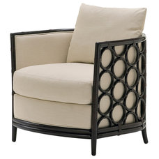 Traditional Armchairs by McGuire Furniture Company