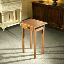 Small End Table With Drawers - Made by http://www.ecustomfinishes.com