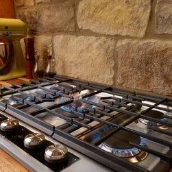 30-Inch 5 Burner Gas Cooktop, Architect® Series II Model# KFGU706VSS - 30-Inch 5 Burner Gas Cooktop, Architect® Series II