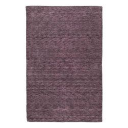 """Kaleen - Area Rug: Renaissance Aubergine 5' x 7' 9"""" - Shop for Flooring at The Home Depot. Renaissance is a truly unique, high fashion monochromatic collection. This offers a Tibetan look along with a tradition soft back but at a non-traditional price. Regale is hand loomed in India of only the finest 100% virgin seasonal wool for years of elegant durability."""