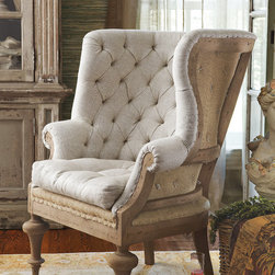 Fontaine Wingback Chair An Instant Heirloom Based Upon