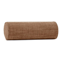 Howard Elliott - Coco Topaz Bolster Pillow - Bolster Pillows offer both form and function to your decor. HECs Bolsters are made with a luxurious foam insert giving you comfortable support for your neck or back, while adding pop to your furniture or bedding group with their crisp round shape.