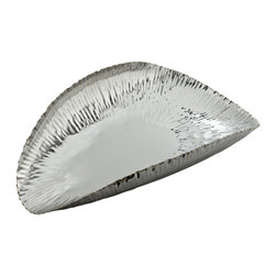 Riado - Scoop Serving Bowl, Medium - Our products are handcrafted using high quality materials. Slight variations and imperfections are expected and are the inherent beauty of these items.