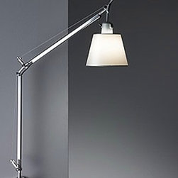 Tolomeo with shade wall sconce -