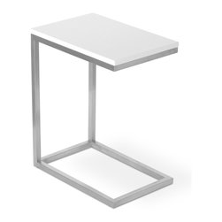 Gus Modern - Gus Modern Bishop Table - Need a spot to show some loving care for your new houseplant? Whether you place it in the corner or use it as a defacto TV tray, this minimalist table will find a place in your home.