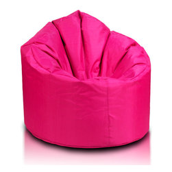 Turbo BeanBags - Beanbag Star, Pink, Filled Bag - Star Beanbag is a highly comfortable chair, one of the newest products from Turbo BeanBags. It surprises by its form, which fits like a second skin to the body shape of the person sitting creating a stable support for your back and shoulders in the form of rounded armrests.