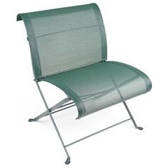 patio furniture and outdoor furniture Fermob Dune Folding Low Wide Chair - Double Weave