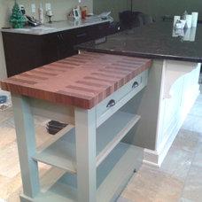 Kitchen Islands And Kitchen Carts by Culinary Hardwoods Ltd.