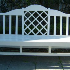 Outdoor Benches by Figueroa's Fine Custom Furniture