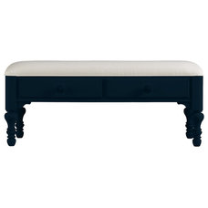 Beach Style Upholstered Benches by Masins Furniture