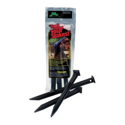 Master Mark Plastics - Master Mark Plastics 10 in. Anchor Stakes - 3 Pack - 1432-4016 - Shop for Sheds & Storage - Accessories from Hayneedle.com! Made of durable polypropylene the Master Mark Plastics 10 in. Anchor Stakes - 3 Pack is great to use in all types of landscape edging and are perfect for outdoor or gardening use. Each stake in this pack of 3 measures 10 inches long.About Master Mark PlasticsUse Master Mark Plastics and your yard will thank you in more ways than one. A premier name in lawn and garden and building products throughout the world Master Mark Plastics creates myriad eco friendly products for many types of outdoor use. One of the largest and most experienced recyclers of high density polyethylene plastics in the world Master Mark Plastics takes plastic from milk jugs detergent containers and juice bottles and recycles them for further use in its lawn and garden products and composite decking materials.